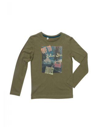 BRIAN AND NEPHEW T-shirt - Khaki