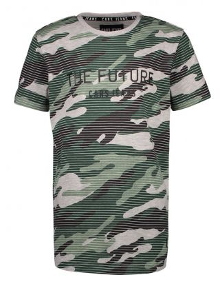 CARS T-shirt Ferrato army - Groen