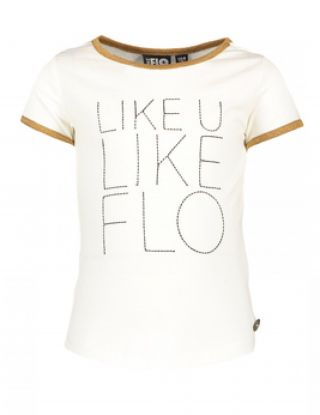 FLO T-shirt - Wit