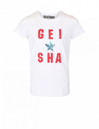 GEISHA T-shirt - Wit