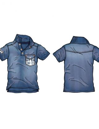 GUESS Polo - Blauw