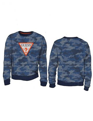 GUESS Sweater - Blauw