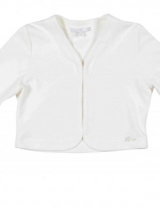 GYMP Cardigan boa tulle - Wit