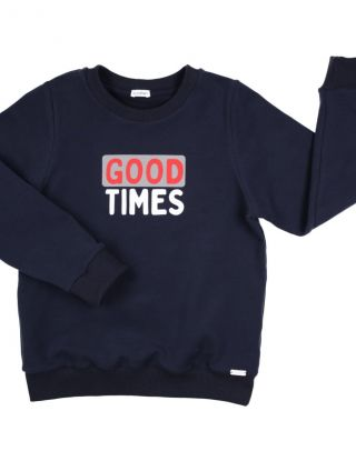 GYMP Sweater Good Times - Blauw