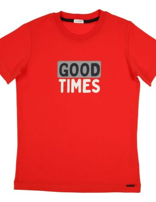 GYMP T-shirt Good Times - Rood