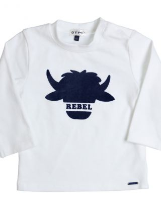 GYMP T-shirt Rebel - Wit