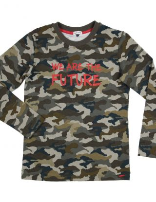 GYMP T-shirt we are the future - Khaki