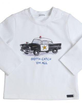 GYMP T-shirt - Wit