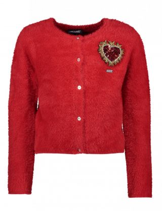 LE CHIC Cardigan - Rood