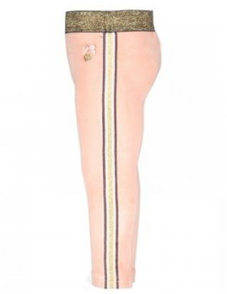 LE CHIC Legging stretch velours - Roze