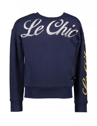 LE CHIC Sweater - Blauw