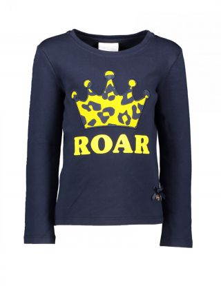 LE CHIC T-shirt Roar - Blauw