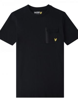 LYLE & SCOTT T-shirt - Zwart