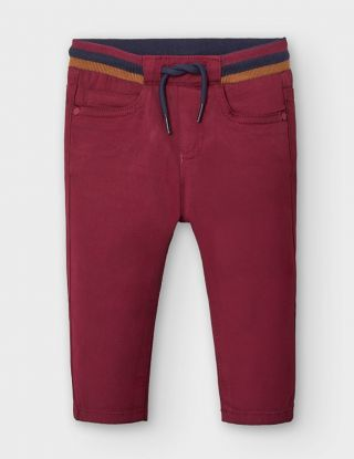 MAYORAL Broek 5 pocket - Bordeaux