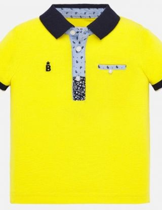 MAYORAL Polo - Geel