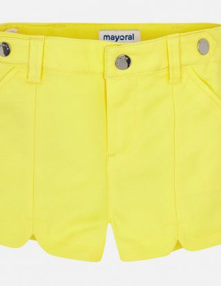 MAYORAL Short satin - Geel