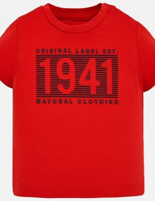 MAYORAL T-shirt - Rood