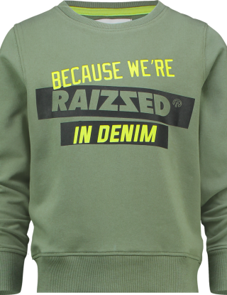 RAIZZED Sweater - Groen
