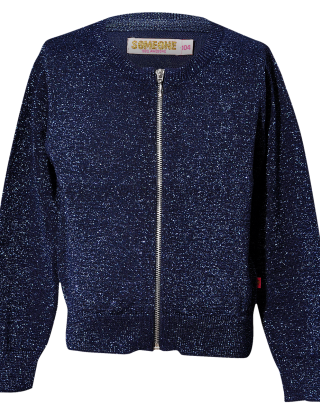SOMEONE Cardigan - Blauw
