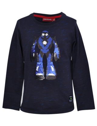 SOMEONE T-shirt - Blauw