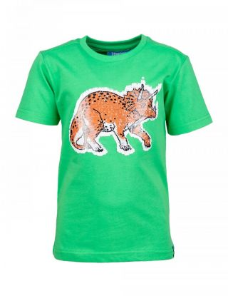 SOMEONE T-shirt - Groen