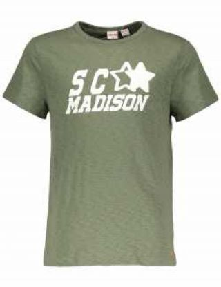 STREET CALLED MADISON T-shirt - Groen