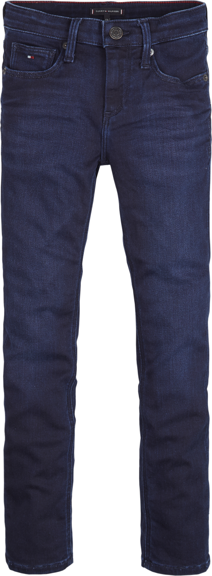 TOMMY HILFIGER Broek Sliga blue Stretch - Blauw