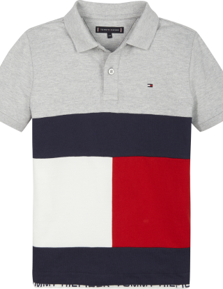 TOMMY HILFIGER Polo - Grijs
