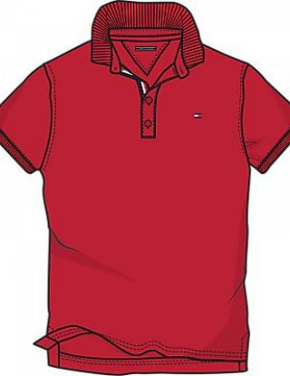 TOMMY HILFIGER Polo - Rood