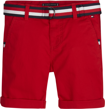 TOMMY HILFIGER Short chino - Rood