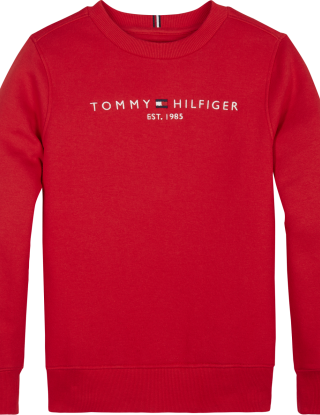 TOMMY HILFIGER Sweater essential - Rood