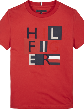 TOMMY HILFIGER T-shirt - Rood